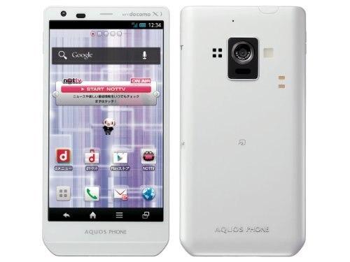 [New]Sharp DoCoMo AQUOS PHONE ZETA sh-02e white rom NFC/FeliCa  correspondence
