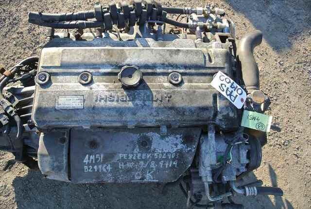 [Used]Engine&Transmission 4M51 2WD MT MITSUBISHI CANTER, FE82EEV