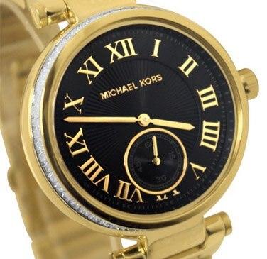 e96fdc126fca New Michael KORS  Course  MODEL no.mk5989 Skylar gold Tone Ladies ...