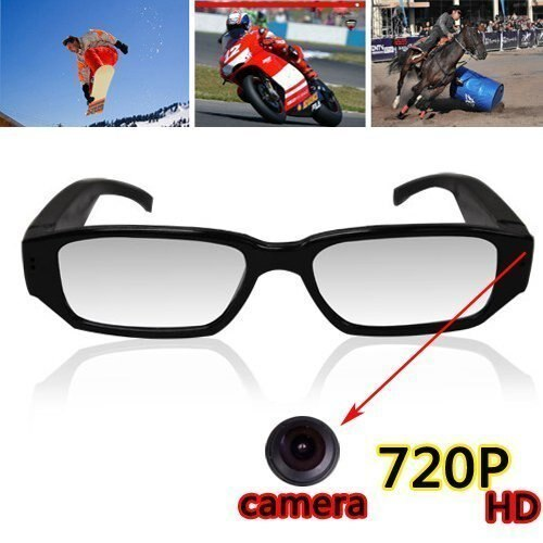 cf7175d029 UGETDE 720p HD High quality glasses type digital video   camera microSD  compatible 1280 × 720 glasses type hidden camera recording security  evidence ...