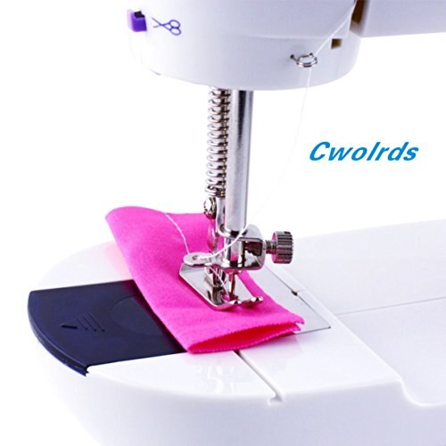 New]Cworlds Compact Sewing Machine For Home Electric Sewing Machine Interesting Smallest Sewing Machine