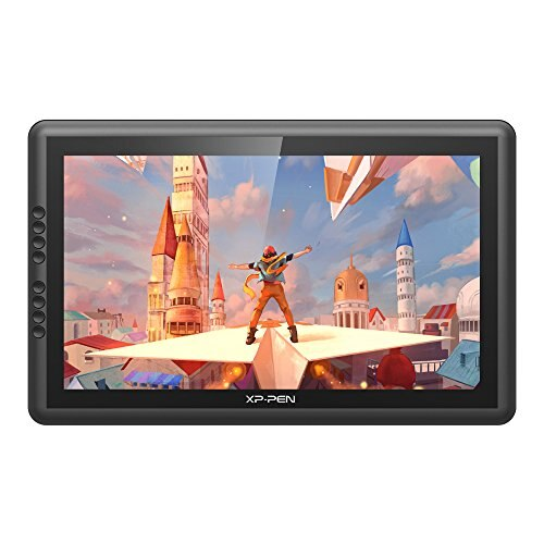 Xp Pen 92 Color Gamut Liquid Tab LCD Tablet 16 Inch FHD Monitor 8 Pieces Express Key 8192 Level Pressure Windows Mac Compatible Artist16pro