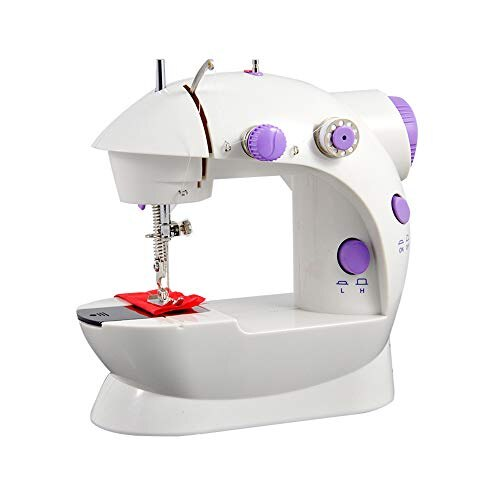 New]Small Compact Sewing Machine For Children Using Electric Sewing Adorable Smallest Sewing Machine
