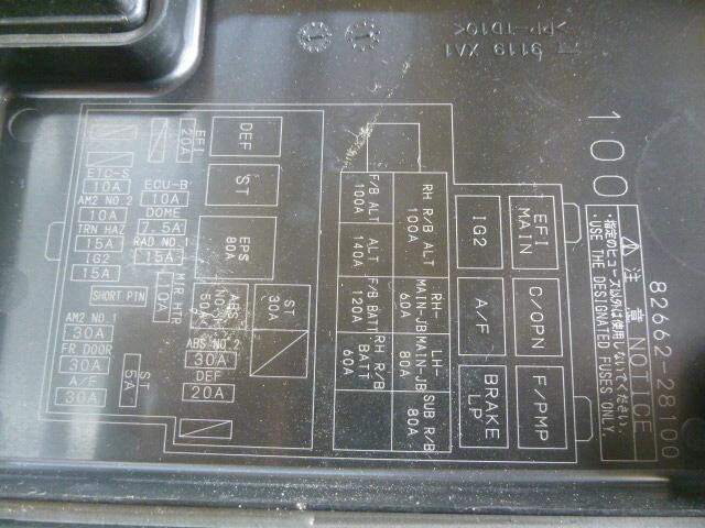 Toyota Estima Fuse Box Layout In English Data Wiring Diagram