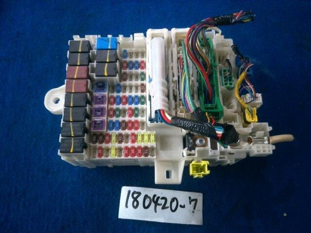 used]fuse box honda fit 2008 dba-ge6 - be forward auto parts  be forward auto parts