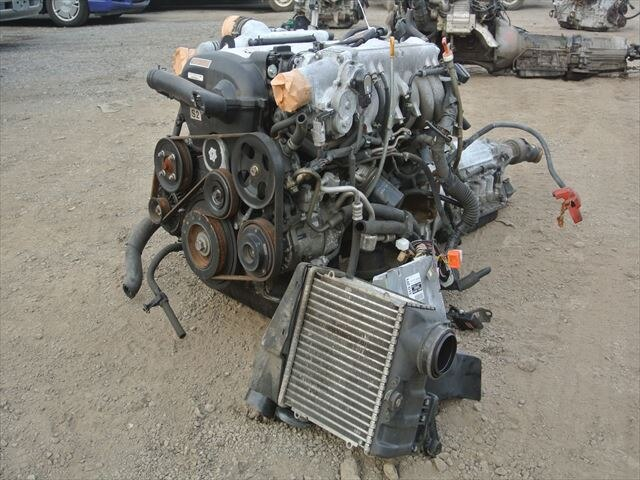 [Used]Engine&Transmission 1JZ-GTE 2WD AT, VVTi TOYOTA CROWN, JZS171