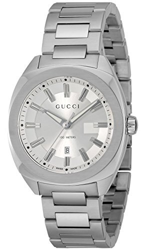 cda61b7b4f9 Gucci GUCCI Watch gg2570 silver dial ya142402 men s  parallel import goods