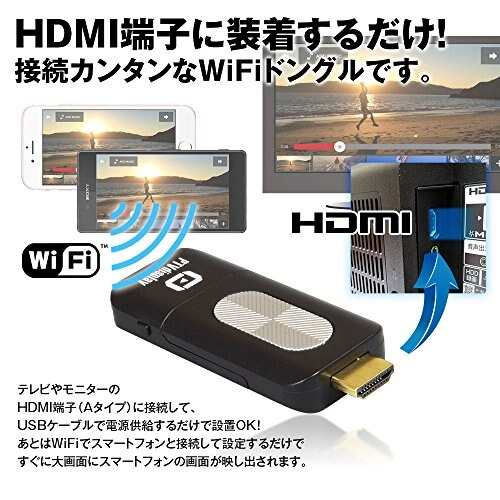 NewWiFi Dongle Adapter Receiver IPhone Smartphone Android HDMI TV Vehicle Monitor Air Play Miracast WiFi Display Screen K WID03