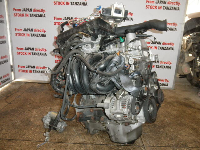 [Tanzanian Stock] Used Engine K3-VE 2WD AT TOYOTA Passo QNC10