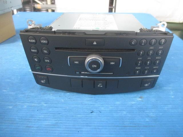 [Used]Benz W204 C Class 204054 Audio System [12367640]