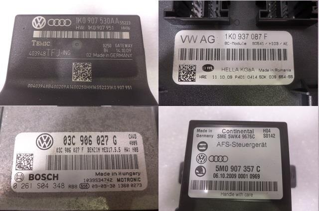 Used]Control Unit VOLKSWAGEN Golf 2010 ABA-1KCAV - BE