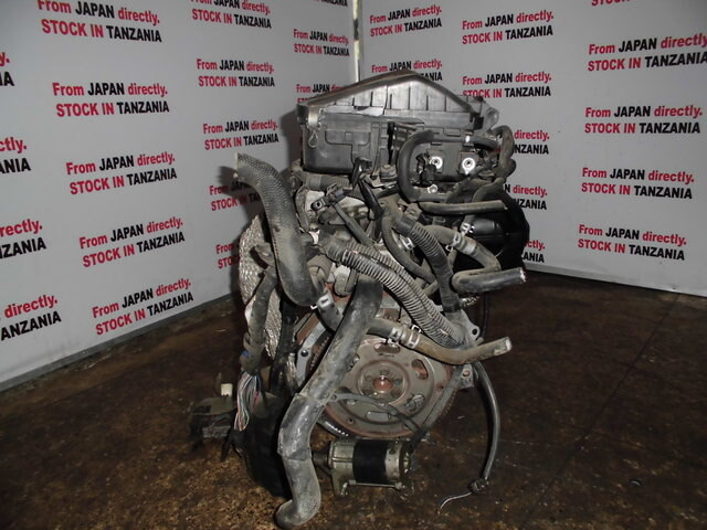 [Tanzanian Stock] Used Engine K3-VE 2WD AT TOYOTA bB QNC20