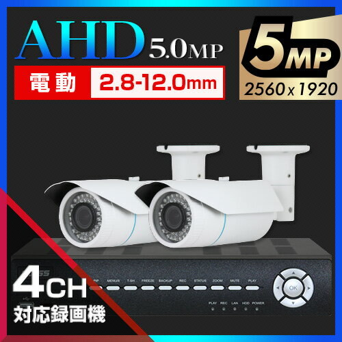 [New]AHD5 0 Taiwan brand UTC call movement Bali four Cal Camera two set  [4CH/2TB]