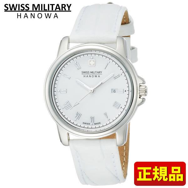[New]SWISS MILITARY Switzerland military ROMAN Roman series ML-410 ML410    Lady's watch watch white white