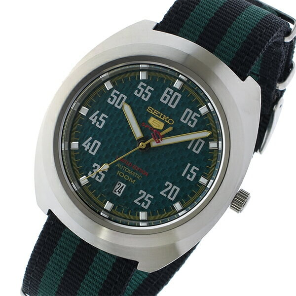 New Seiko Seiko Seiko 5 Sports 5 Sports Self Winding Watch Men Watch Srpa89k1 Green Black Watch Foreign Countries Import Product