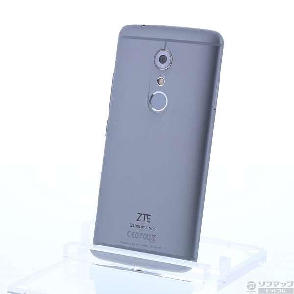 [Used]ZTE AXON 7 64GB QuartzGray AXON7GRAY SIM-free [291-ud]