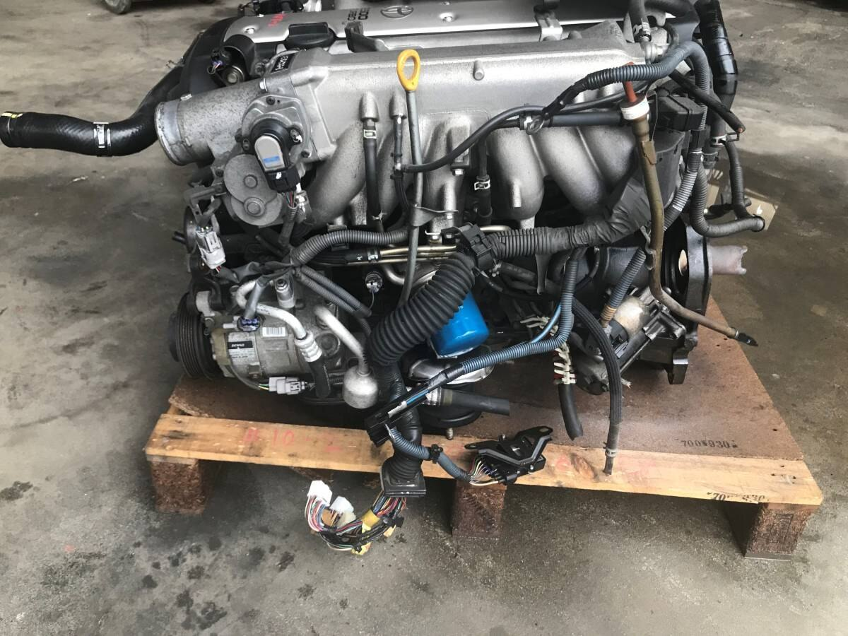 [Used]I take off an actual work car! I pick you up and change it and set  it! Only as for 1JZ-GTE VVT-I   Engine ASSY corporation delivery