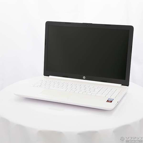 [Used]hp (Hewlett Packard) HP 15-da0093TU-OHB 4QM63PA-AAAB pure white  [Windows 10]   ◇07/03