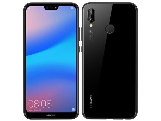 [Used]Huawei HUAWEI P20 lite Wi-Fi ANE-LX2J-BK midnight Black mint condition