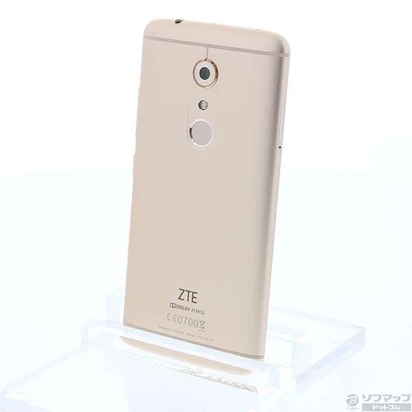 [Used]ZTE AXON 7 64GB ion Gold ZTE A2017G SIM-free 344-ud