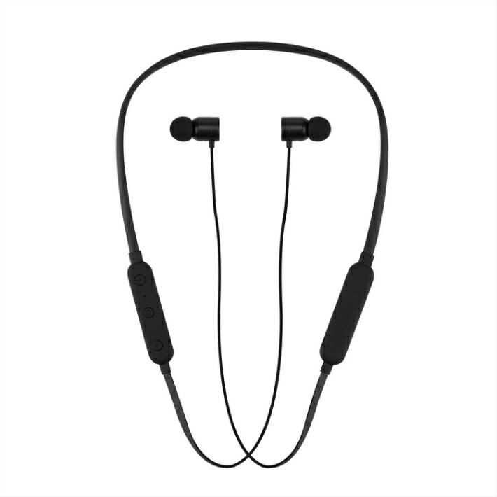 New The Bluetooth Device Intkoot Bluetooth V4 1 Earphone Magnetism Neckband Earphone Automatic Pair Reipx5 Waterproof Hi Fi Microphone Super For A Long Time Compatibility Adoption Ergonomics Both Ears Waterproof Dust Proof Sweat Proof Bluetooth