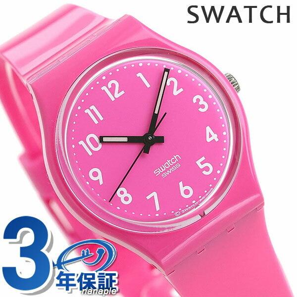 New Swatch Swatch Watch Ladies Pink Gp128