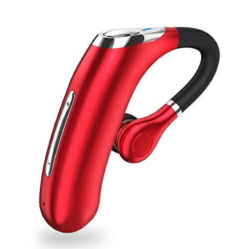 New Bluetooth Headset V5 0 One Ear Super Large Capacity Battery Super For A Long Time Hands Free Call Scms T Flip Phone Ios Android Red With A Built In Call Csr Tip Microphone Be Forward Store