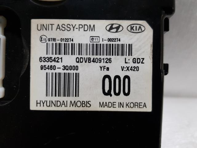 Fuse Box For 2011 Hyundai Sonatum