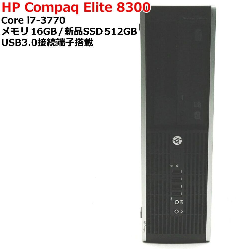 Used Core I7 Third Generation Hp Compaq Elite 8300 Sff Core Core I7 3770 Memory 16gb Ssd512g Windows10 Pro 64bit Desktop Pc Usb3 0 Connection Terminal Be Forward Store