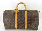 [Used]AUTH LOUIS VUITTON M41426 MONOGRAM KEEPALL 50 TRAVEL HAND BAG EY047