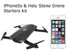 [New]Holy Stone drone + Used iPhone5S 16GB Silver Starters Kit
