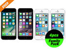 [iPhone Family Pack]iPhone6s 16GB Space Gray 1pc・iPhone6 16GB Space Gray 1pc・iPhone 5s 16GB Silver 2pcs SIM Unlocked