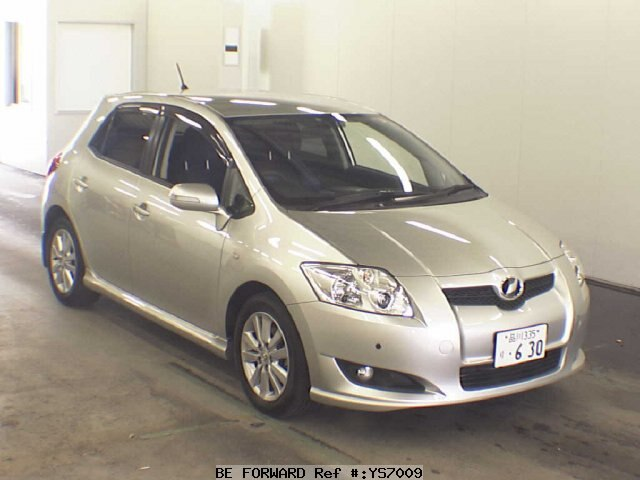 used 2008 toyota auris 180g s package zre152h for sale ys07009 be forward. Black Bedroom Furniture Sets. Home Design Ideas