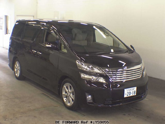 Used 2008 TOYOTA VELLFIRE 3 5V L EDITION/GGH20W for Sale