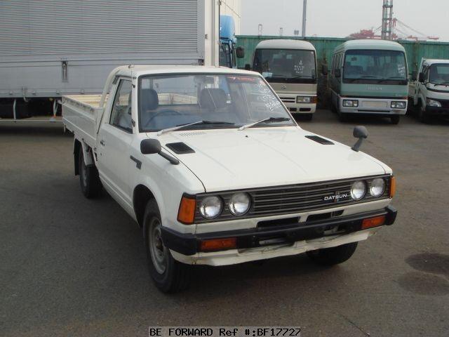 used 1981 nissan datsun pickup k sg720 for sale bf17727 be forward. Black Bedroom Furniture Sets. Home Design Ideas
