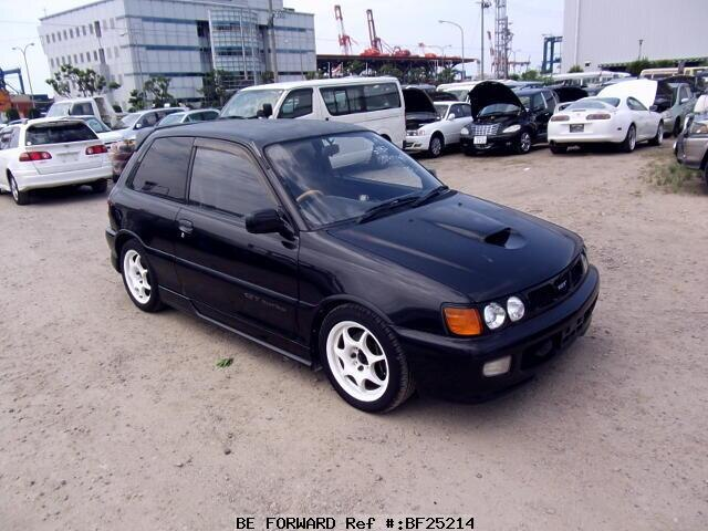 Used 1994 TOYOTA STARLET GT TURBO/E-EP82 for Sale BF25214