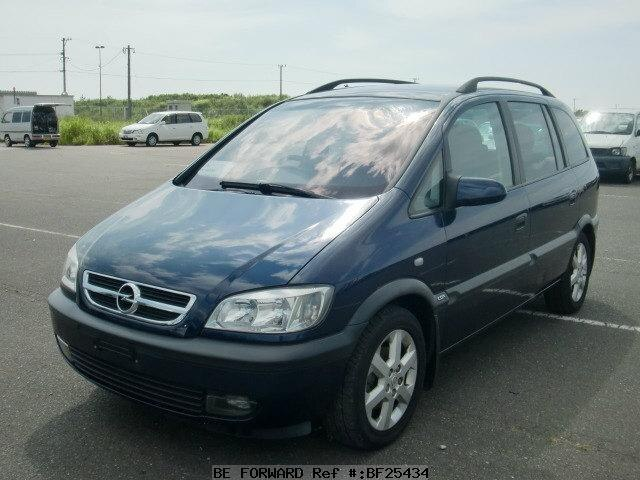used 2001 opel zafira 1 8 cdx gf xm181 for sale bf25434 be forward. Black Bedroom Furniture Sets. Home Design Ideas