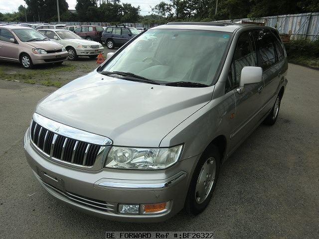 used 2000 mitsubishi chariot grandis royal exceed gf n86w for sale rh beforward jp 2004 Mitsubishi SUV Minivan Mitsubishi Grandis Dies