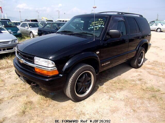 Used 2001 Chevrolet Blazer Ls Gf Ct34g For Sale Bf26392 Be Forward