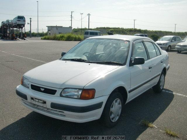 Certified Used Toyota >> Used 1997 TOYOTA TERCEL/E-EL53 for Sale BF26786 - BE FORWARD