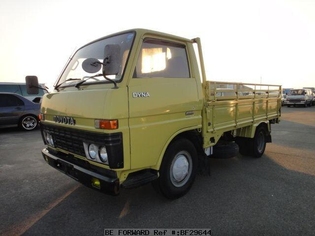 used 1982 toyota dyna truck k bu20 for sale bf29644 be forward. Black Bedroom Furniture Sets. Home Design Ideas