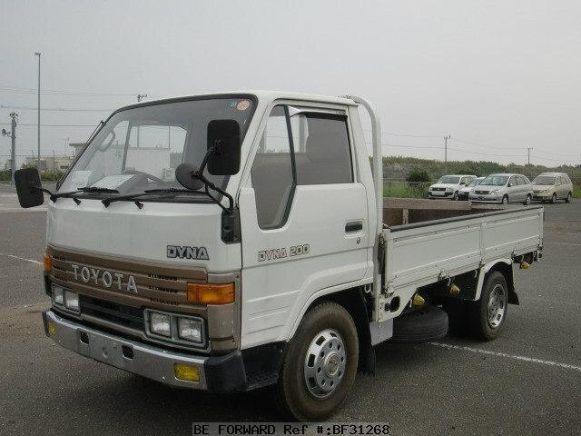 used 1988 toyota dyna truck p bu62 for sale bf31268 be. Black Bedroom Furniture Sets. Home Design Ideas