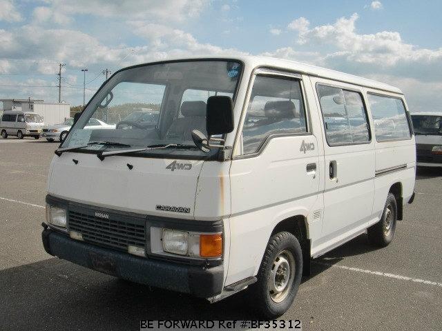 Used 1990 Nissan Caravan Van N Vrmge24 For Sale Bf35312 Be Forward