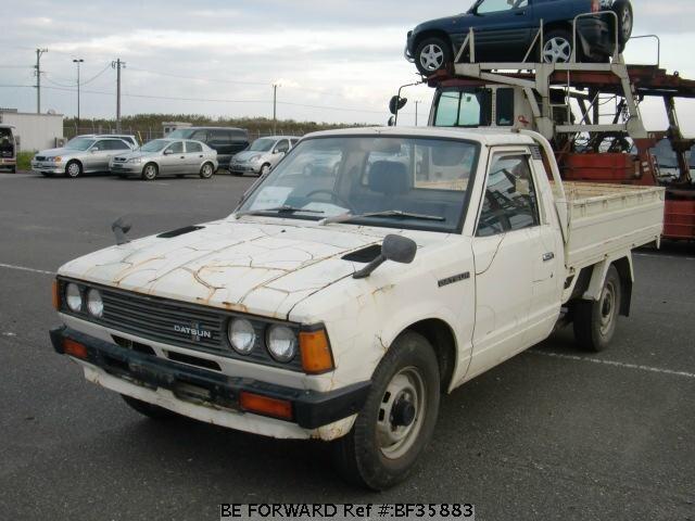 used 1981 nissan datsun truck j g720 for sale bf35883 be forward. Black Bedroom Furniture Sets. Home Design Ideas