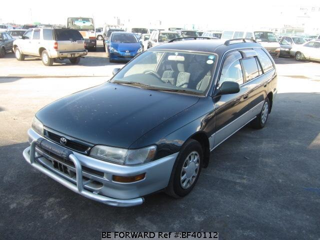 used 1997 toyota corolla touring wagon g touring limited e ae100g for sale bf40112 be forward. Black Bedroom Furniture Sets. Home Design Ideas