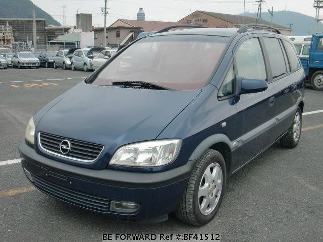 used 2001 opel zafira 1 8cdx gf xm181 for sale bf41512 be forward. Black Bedroom Furniture Sets. Home Design Ideas