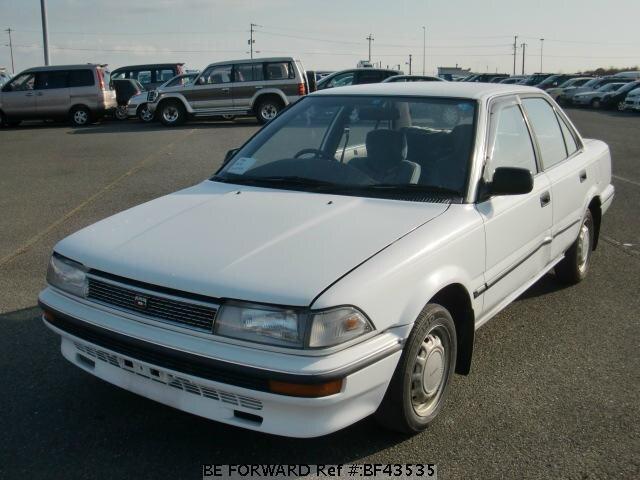Used 1987 Toyota Corolla Sedan E Ae91 For Sale Bf43535 Be Forward