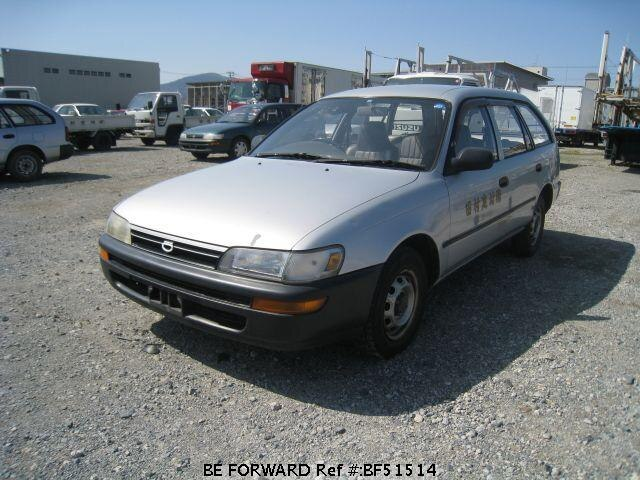 Used 1993 TOYOTA COROLLA VAN DX/S-CE106V for Sale BF51514 - BE FORWARD