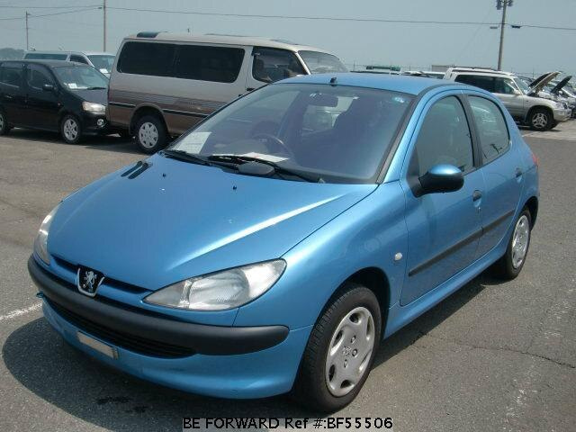 Used 2001 PEUGEOT 206/GF-T14A for Sale BF55506 - BE FORWARD