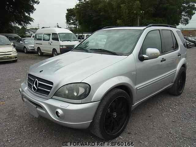 Used 2001 mercedes benz m class amg ml55 gf ml55 for sale for Mercedes benz suv 2001